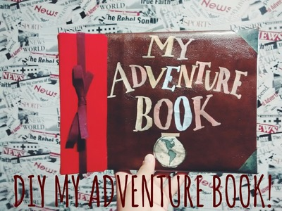 DIY MY ADVENTURE BOOK! Menino Leitor.