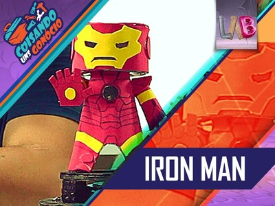 DIY - Luminária Iron Man - Coisando uns Gonócio - #05