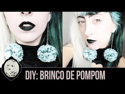 DIY: Brincos de Pompom