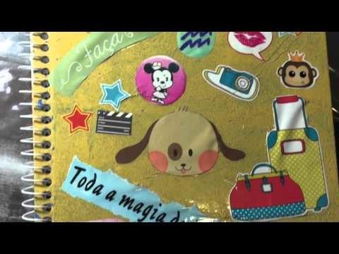 DIY - Customizando materiais escolares | Lari Brasil