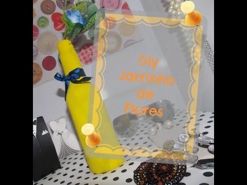 DIY Jarrinho de Flores
