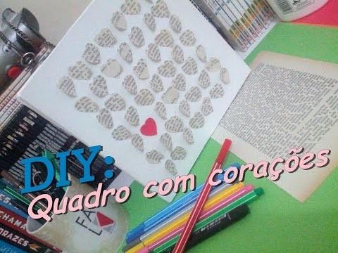 DIY : Quadrinho Criativo - Fácil e Barato!!