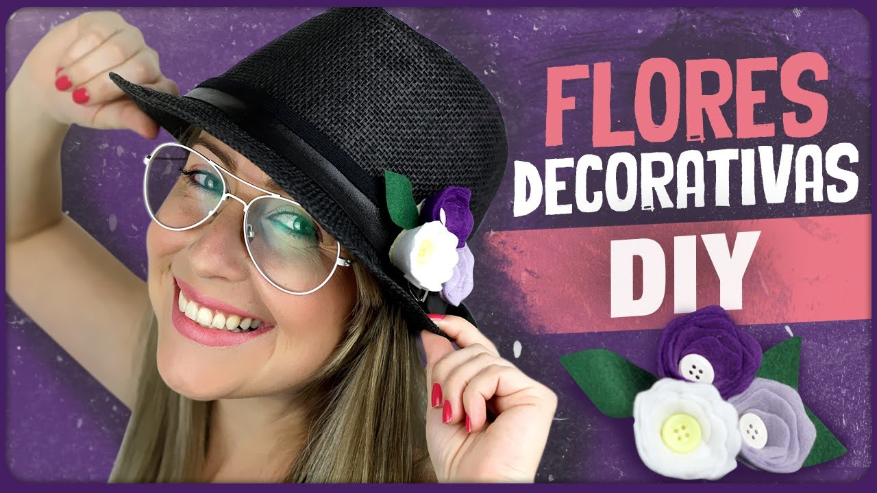 Flores decorativas =DiY