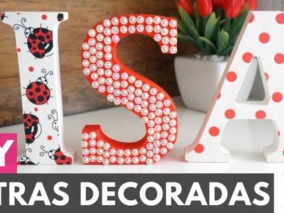 Letras em MDF para Decoração |DIY - Faça você mesmo