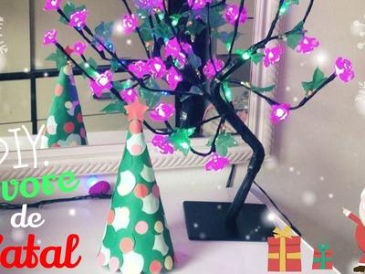 DIY: Árvore de Natal de Cartolina