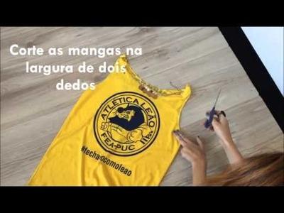 DIY: CUSTOMIZAÇÃO DE ABADÁ - CAROL ARI