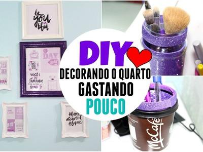 ♡ DIY. DECORANDO O QUARTO (Muito Barato ) - Amanda Azevedo
