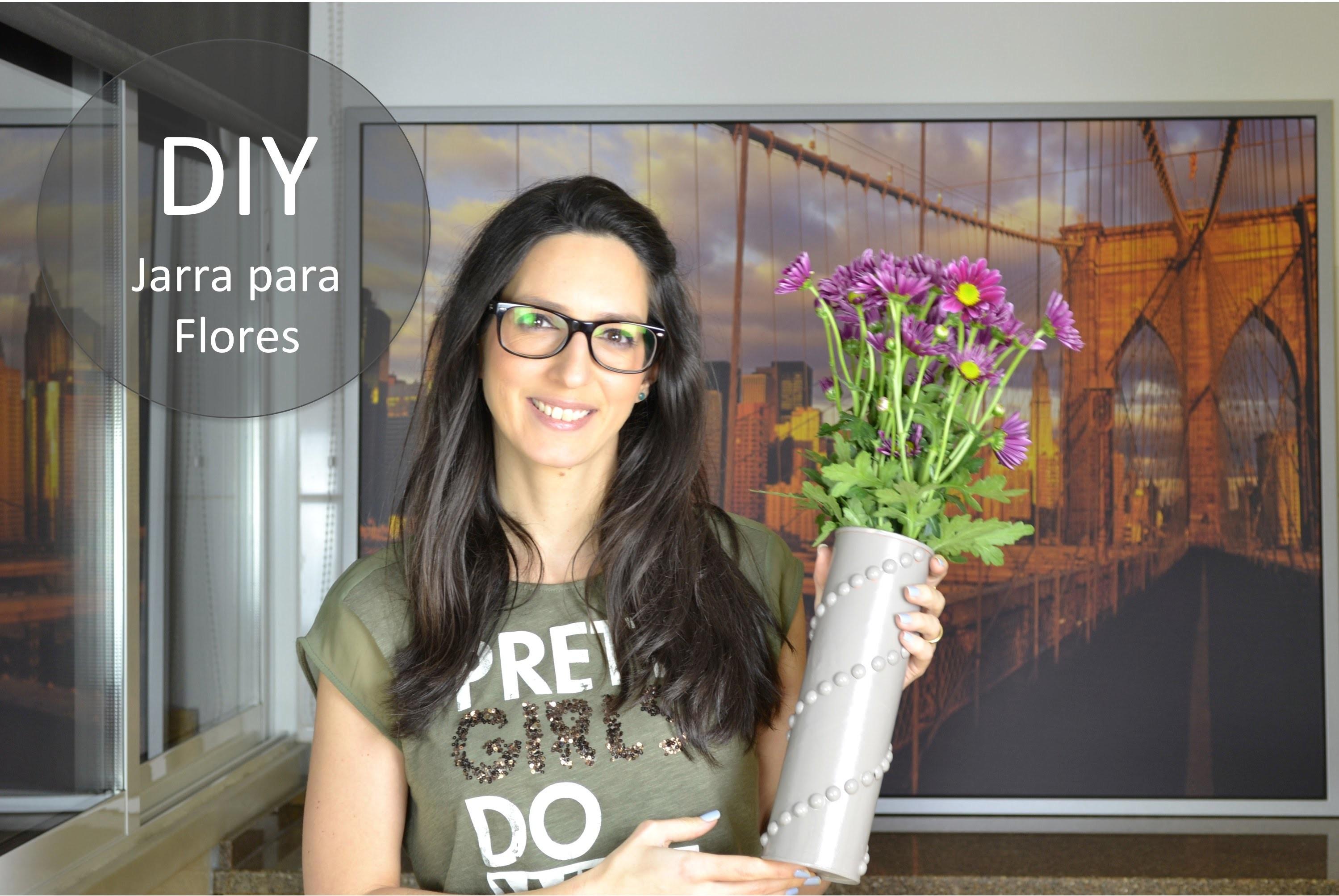 DIY Jarra para Flores