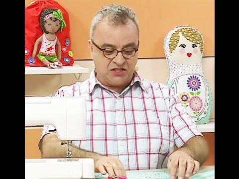 Porta pano de prato Corujinha com Afonso Franco | Vitrine do Artesanato na Tv