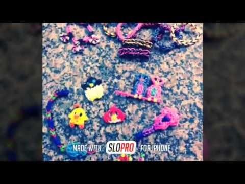 Rainbow Loom- meus bichinhos e pulseiras
