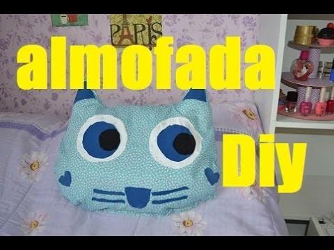 DIY Almofada de gatinho (faça você mesmo)