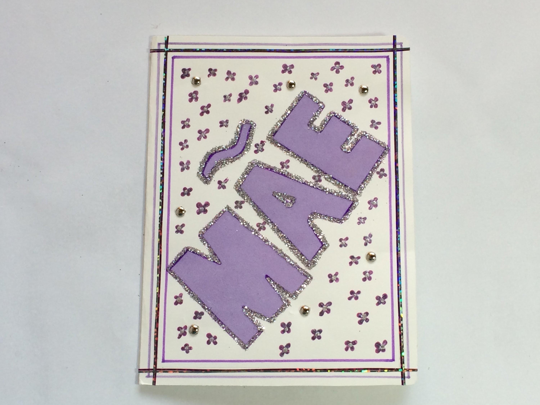 DIY Cartão para o  Dia das Mães