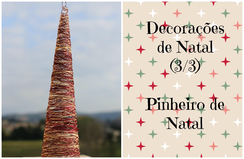 DIY Decorações de Natal (3.3) - Pinheiro de Natal