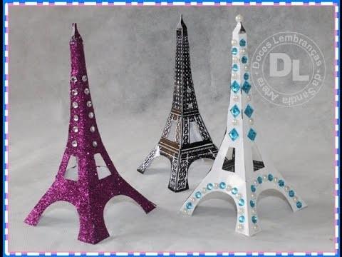 DIY: Faça sua própria Torre Eiffel | Torre Eiffel