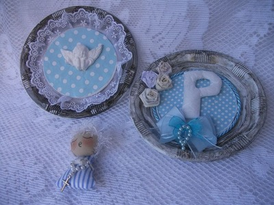 DIY: Faça você mesma, Decoração, Enfeite Porta de Maternidade ♥