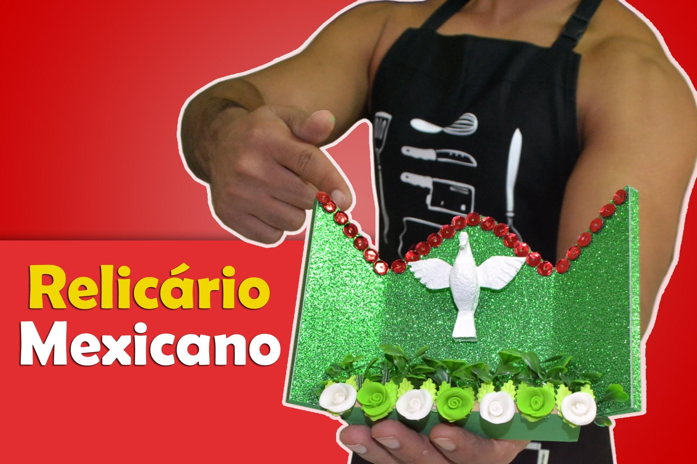 DIY: Relicário Mexicano Faça VC Mesmo