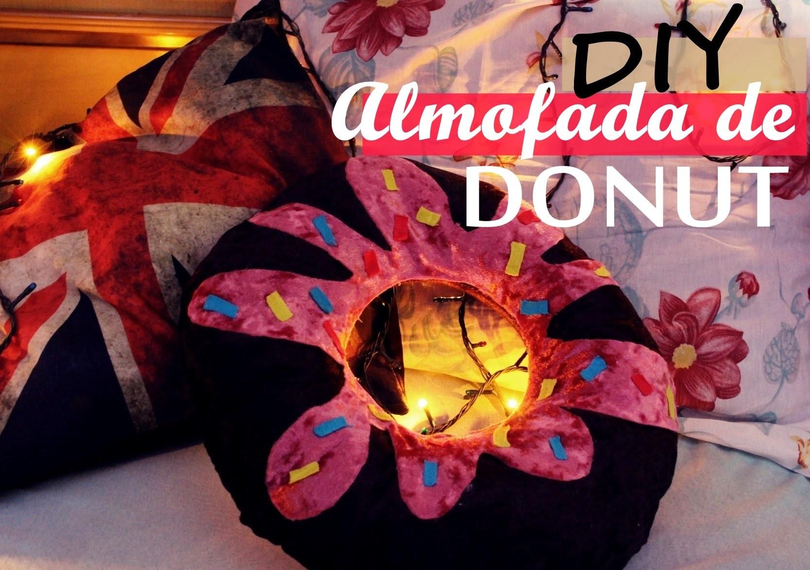DIY Almofada de Donut por Andressa Gusmão