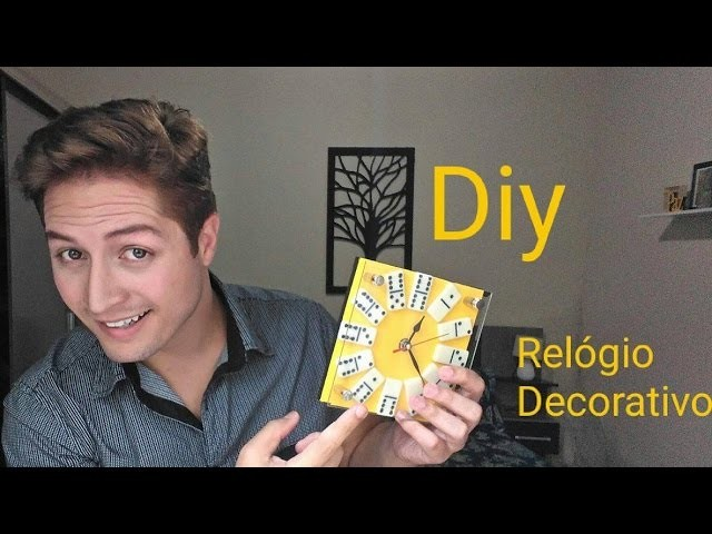 DIY   Relógio decorativo