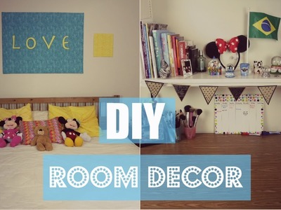 DIY Room Decor (Decorando o Quarto) | Larissa Vale