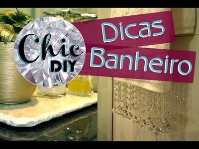 CHIC DIY - Dicas para decorar seu banheiro - Toalha e Bandeja