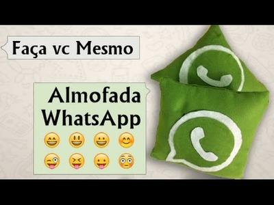 DIY | Almofada WhatsApp por Coisas de Jessika