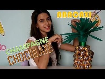 DIY: Decoração de ano novo ABACAXI DE CHOCOLATE