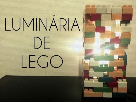 DIY: LUMINÁRIA DE LEGO