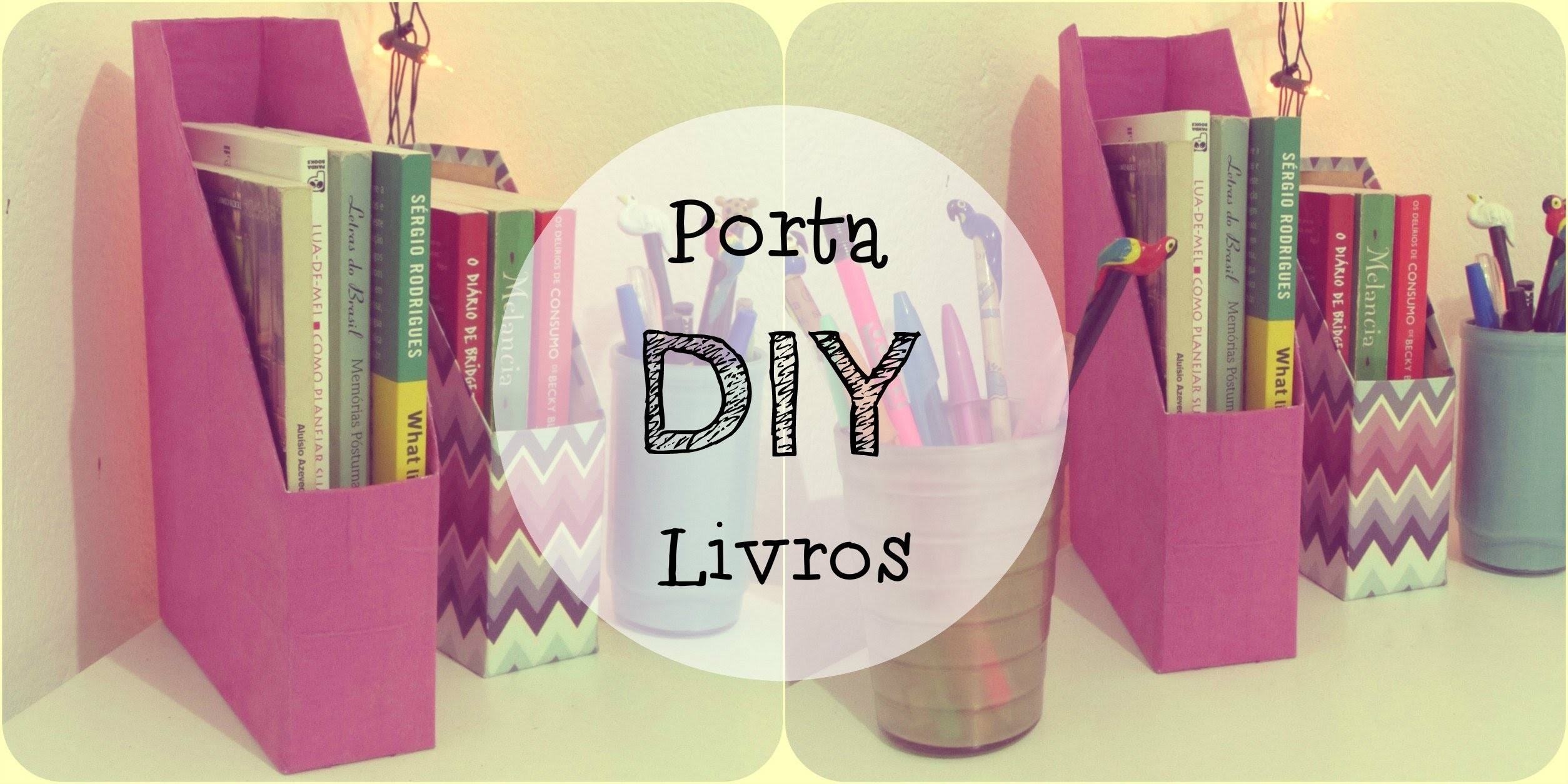 DIY - Porta livros com caixa de cereais