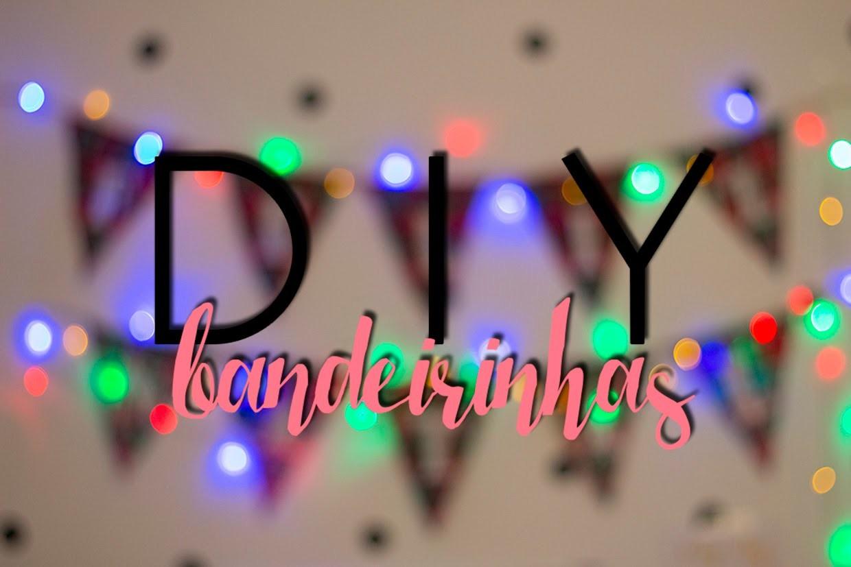 DIY: Bandeirinhas!   Decorando pro Natal