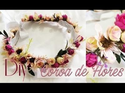 DIY: Coroa de Flores Fácil - Réveillon