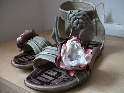 DIY: Customização das Sandalias