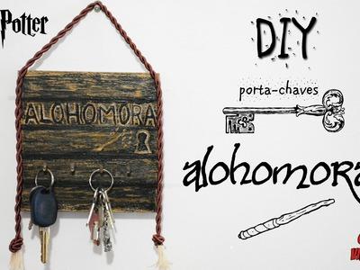 DIY: Porta-chaves ALOHOMORA | #POTTERHEAD || Garota VintaGeek