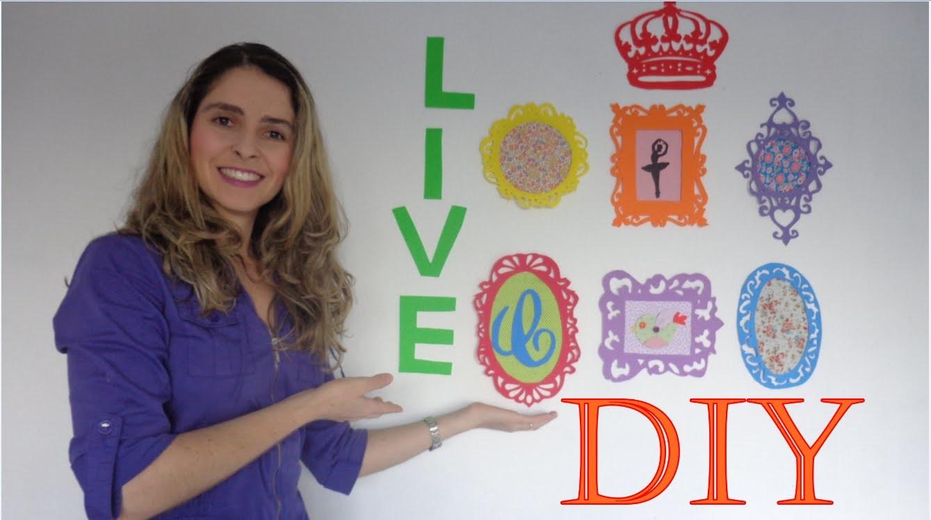 DIY- Quadros Decorativos Provençais