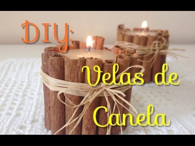 DIY: Velas de Canela