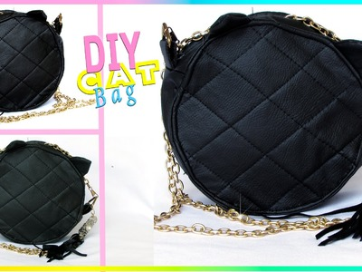 DIY BOLSA GATINHO CAT BAG DE CD | POLY GONÇALVES