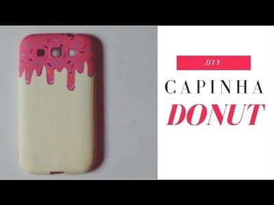 DIY: Capinha de Celular Cobertura de Donut