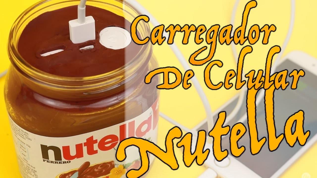 DIY | Carregador de Celular Nutella - Como Fazer?