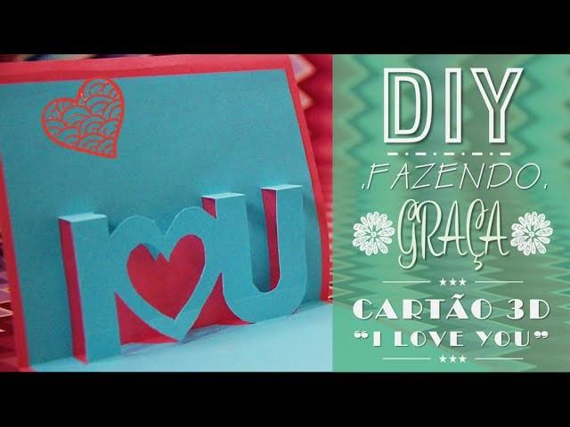 DIY - Cartão 3D