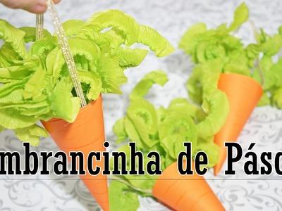 DIY | Lembrancinha de Páscoa: Cenoura com chocolates