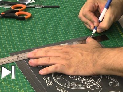 Paper Show Episódio 1 - Chalkboard 3D