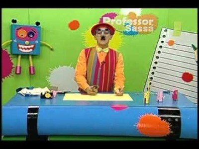 Bichinhos com rolo de papel - Artesanato - Professor Sassá - Acrilex