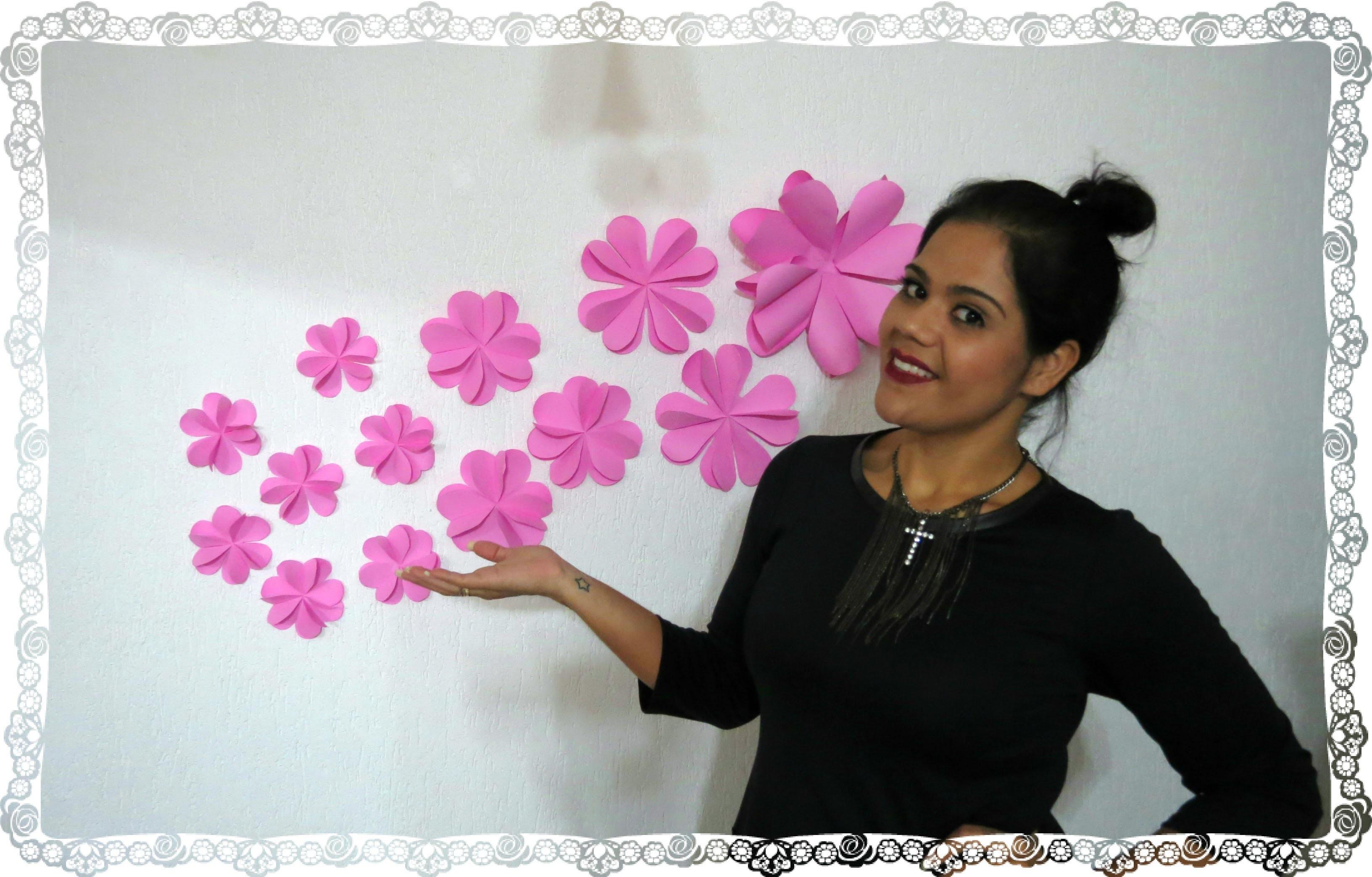 DIY  -  Flor. Coraçao
