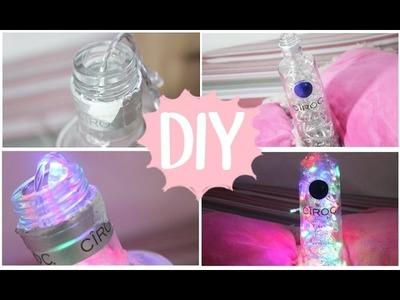 DIY | Luminária de Garrafa (faça você mesma) | Especial Natal