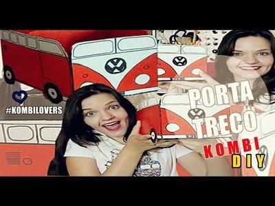 DIY| Porta-treco KOMBI ♥ #kombilovers