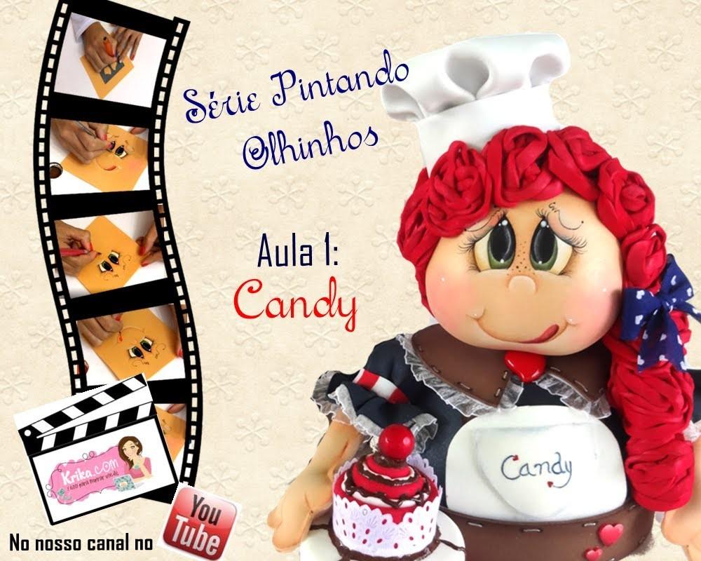 Krika.com - Série Pintando Olhinhos - Aula 1 Candy
