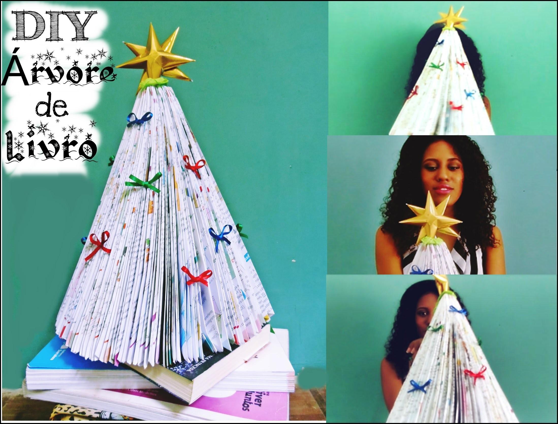 NATAL À NOSSA MODA - DIY Árvore de Papel | Por Meyri Matos