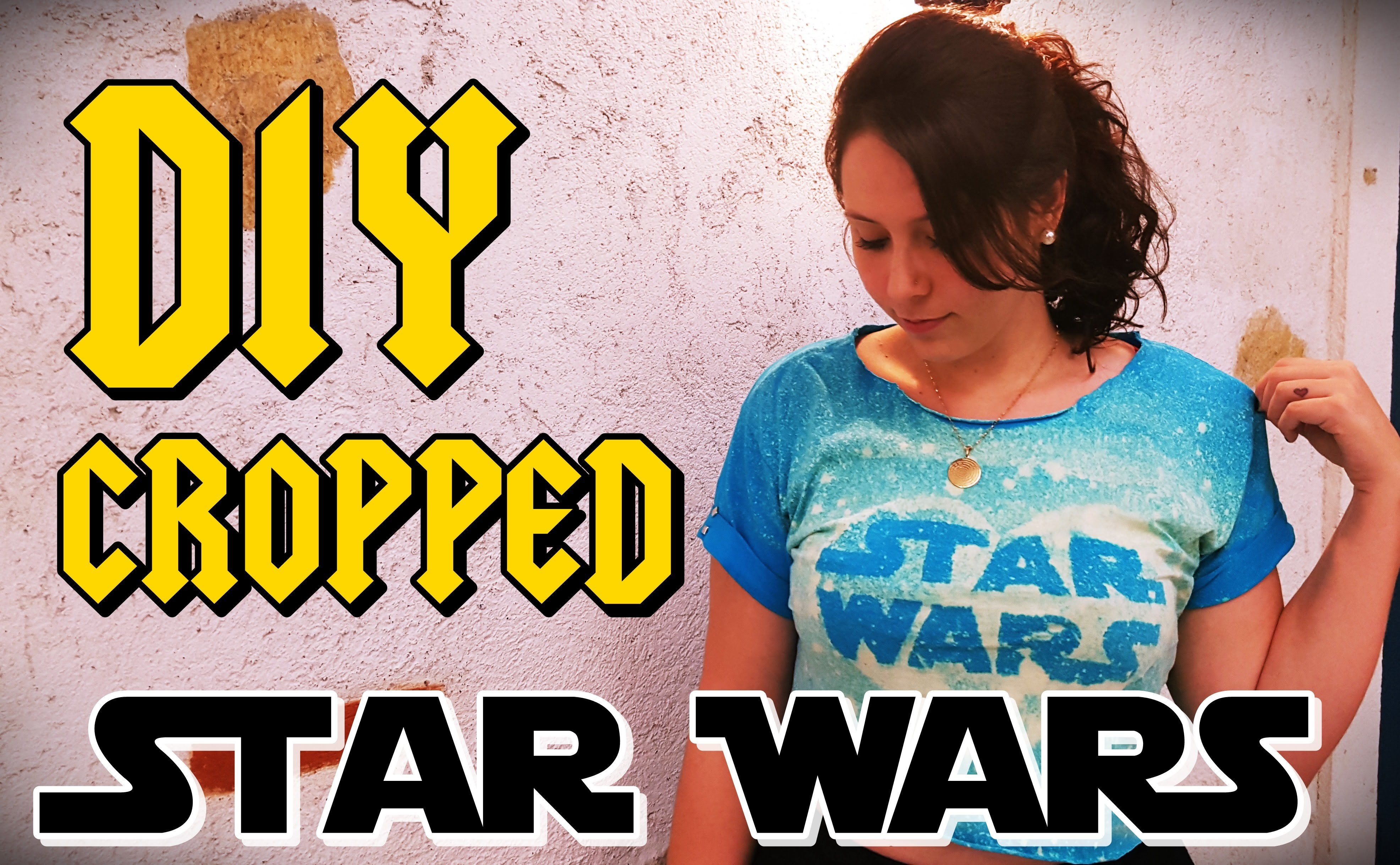 Star Wars (Estampando a camiseta) - DIY