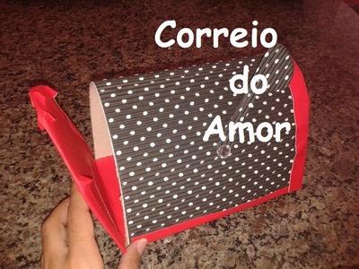 DIY: Caixa Correio do Amor | Por Bii Borges