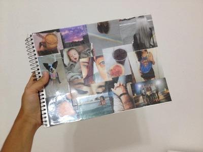 DIY: Dica de personalização de caderno.