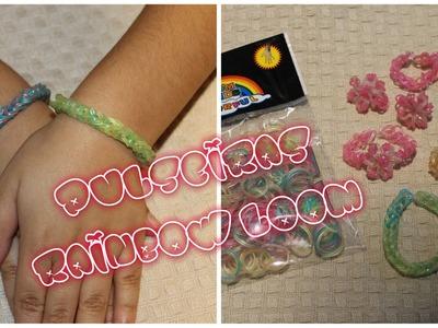 Pulseira Rainbow Loom - Fácil e Rápido usando apenas os dedos